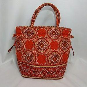Vera Bradley small orange-red bag